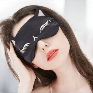 Accessories - silk CAT sleep eye mask